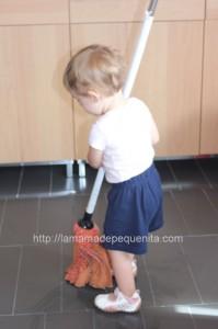 tareas domesticas con niños