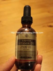 vitamina D para bebés y adultos
