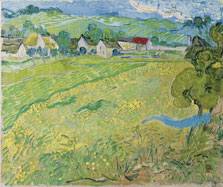 "Vincent van Gogh, ""Les Vessenots"" in Auvers, 1890"