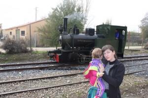 tren de arganda con niños