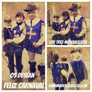 los tres mosqueteros carnaval 2015