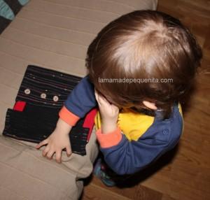 bastidor de botones DIY Montessori