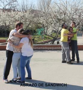 Taller de abrazos de sandwich