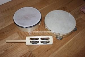 instrumentos musicales para bebés