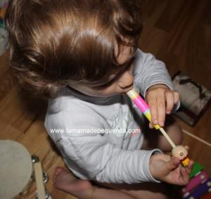 rincón de la música para bebés