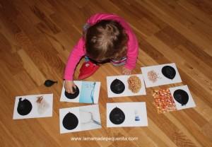 material discriminación sensorial