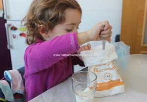 hacer pasta de sal con niños