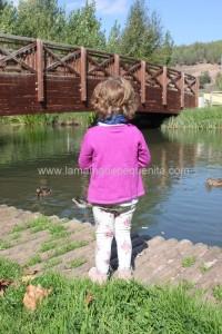 niños y naturaleza aire libre