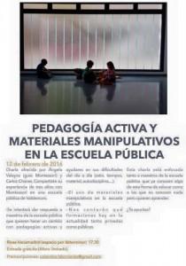 Pedagogía activa en la escuela pública