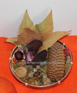 cesto de otoño