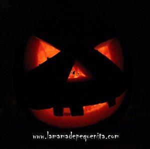 como hacer una calabaza DYI para Halloween