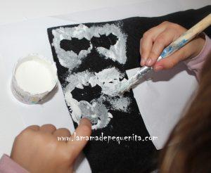 como hacer un disfraz de murciélaga