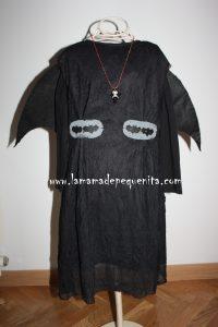 disfraz de vampiro DYI