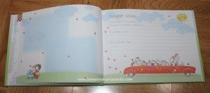 Libro de recuerdos del bebé busquets