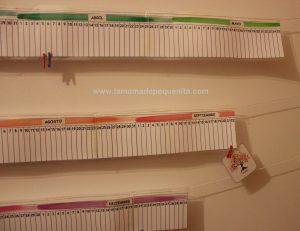 Calendario Lineal.Calendario Lineal Anual Para Aprender La Nocion De Tiempo