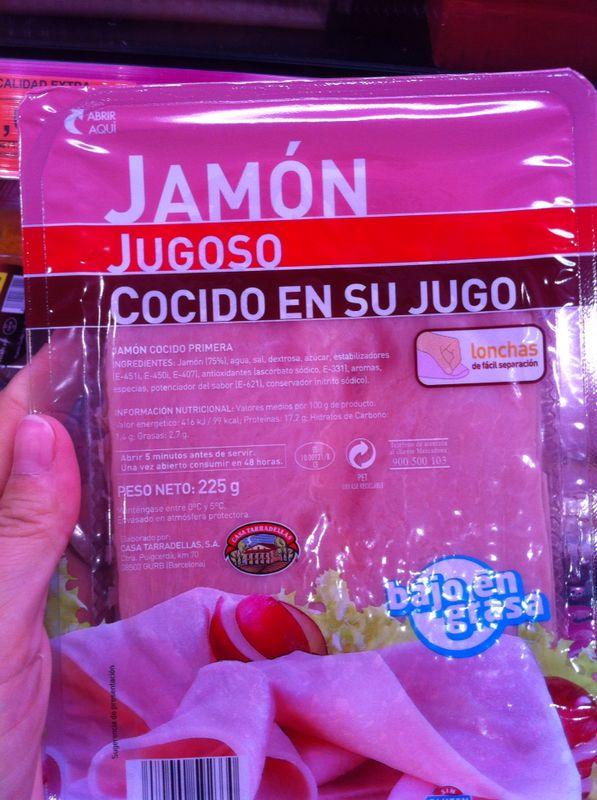Embarazada jamon york se puede comer