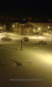 nieve montaña palentina