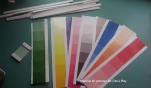 Cajas de color Montessori