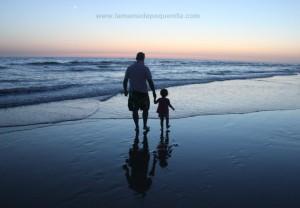 fotos de padres e hijos bonitas