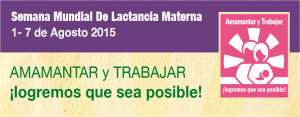 semana mundial lactancia materna 2015
