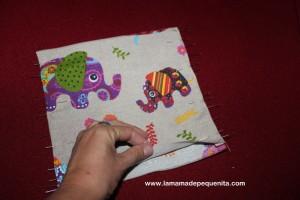hacer una mochila portabebés de juguete