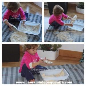 tierra lunar para jugar con niños