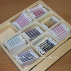Caja de color 3 Montessori Box color 3