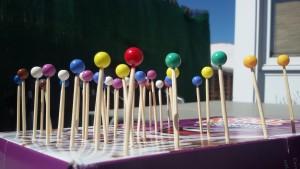 como hacer perlas montessori dyi bead stair