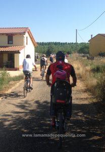 ruta cicloturista con niños