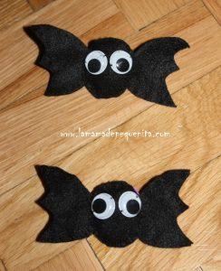 murciélagos de fieltro