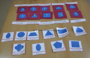resaques Montessori de goma eva