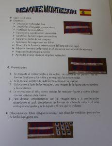 resaques Montessori de goma eva DYI